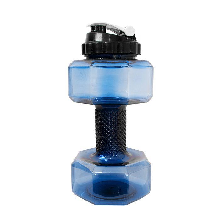 قمقمه دمبلی 2.2 لیتری آبی