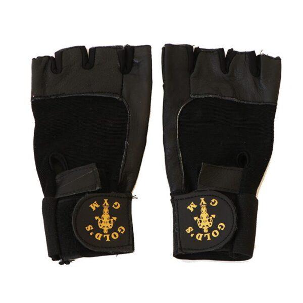 دستکش بدنسازی مردانه گلدزجیم گیشا اسپرت