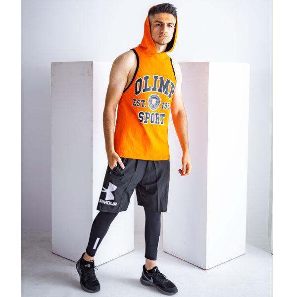 لگ ورزشی مردانه آندر آرمور مدل G-Wear کمر کش مشکی لایف استایل