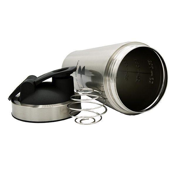 شیکر فلزی استیل آندرآرمور همراه توپ فنری گیشا اسپرت