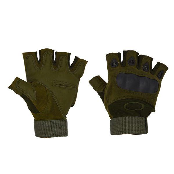 دستکش بدنسازی OAKLEY تاکتیکال یشمی
