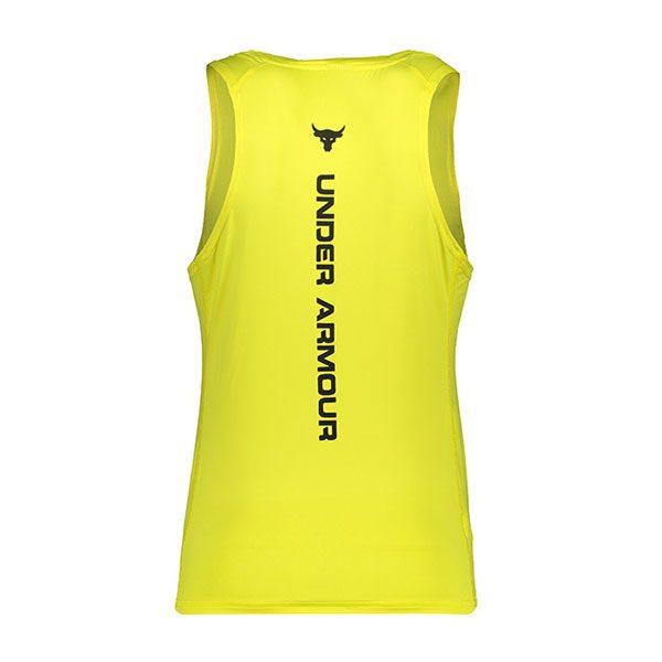 رکابی ورزشی مردانه آندر آرمور POCH زرد پشت