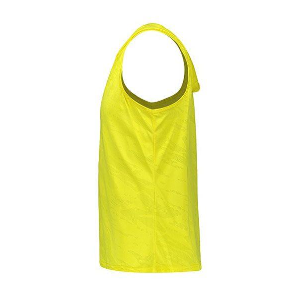 رکابی ورزشی مردانه آندر آرمور چریکی کلاه دار زرد بغل
