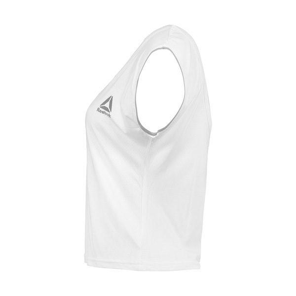 تاپ ورزشی زنانه ریباک REEBOK سفید بغل