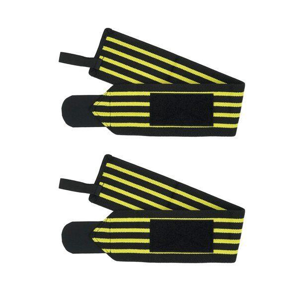 باز شده مچ بند بدنسازی KING مدل SH زرد
