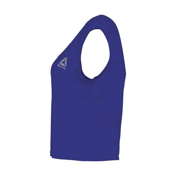 نیم رخ تاپ ورزشی زنانه ریباک Reebok مدل FIL آبی