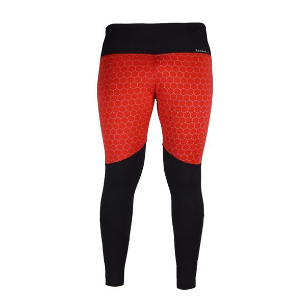 لگ ورزشی زنانه ریباک Reebok طرح Lane قرمز