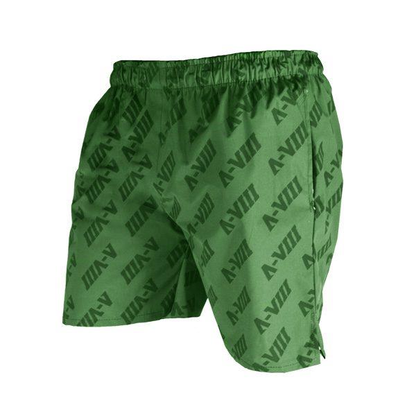سه رخ شلوارک ورزشی مردانه A-VIII جیب دار سبز