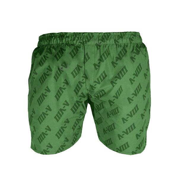 شلوارک ورزشی مردانه A-VIII جیب دار سبز