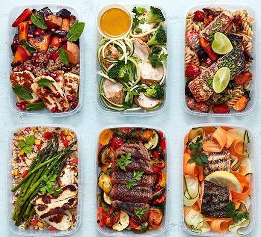 نمونه برنامه غذایی دوران حجم برای افزایش وزن