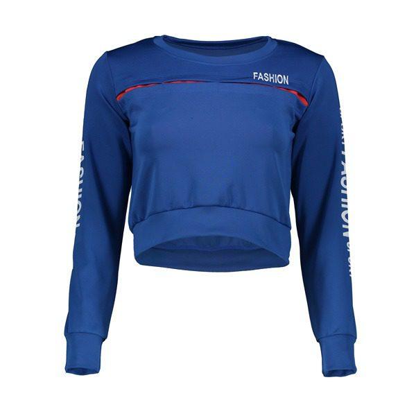 نیم تنه ورزشی زنانه FASHION آبی