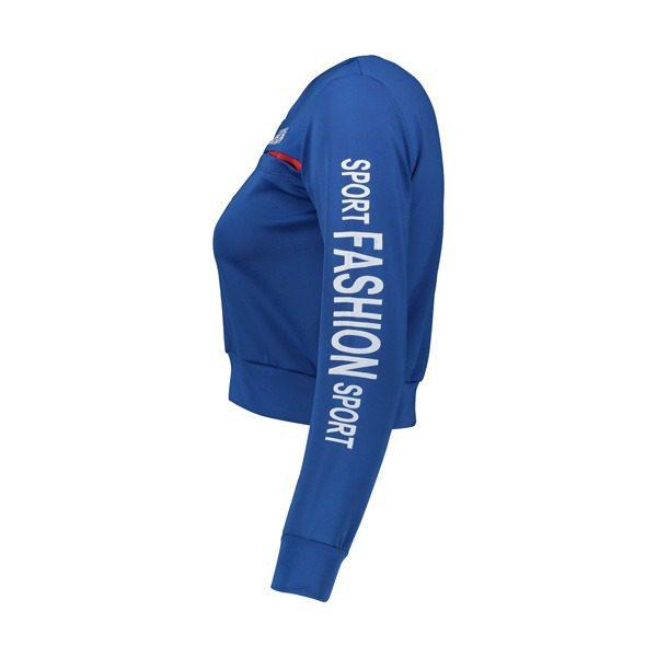 نیم رخ نیم تنه ورزشی زنانه FASHION آبی