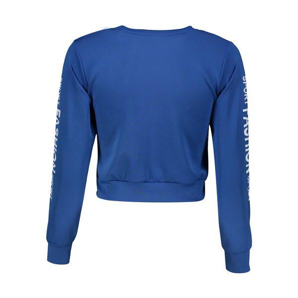 پشت نیم تنه ورزشی زنانه FASHION آبی