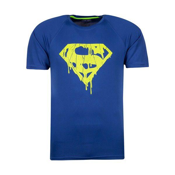 تیشرت ورزشی مردانه سوپرهیرو طرح سوپرمن مدل BY
