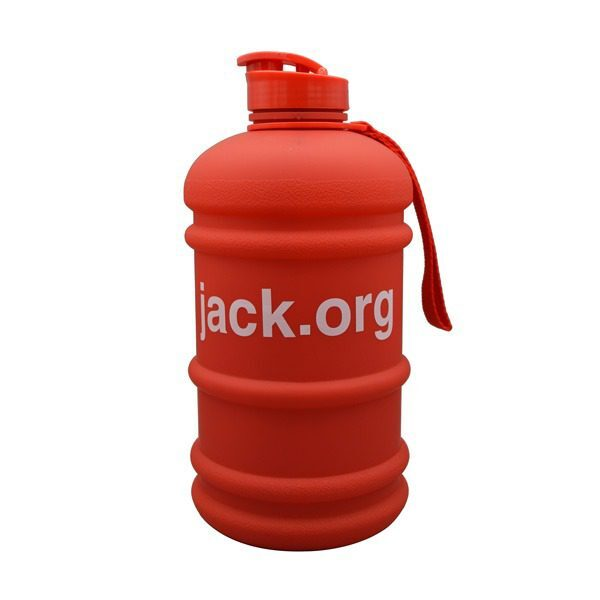 جاگ واتر JACK مدل مات درب قمقمهای ظرفیت 2.2 لیتر قرمز