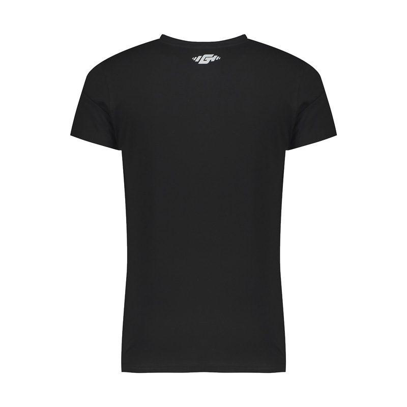 پشت تیشرت ورزشی مردانه G-WEAR مدل L-WG چریکی مشکی