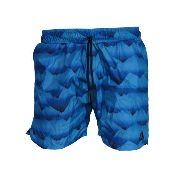 شلوارک ورزشی مردانه ریباک مدل PB-SEE آبی