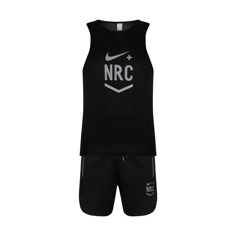 ست رکابی و شلوارک ورزشی نایک مدل NRC مشکی