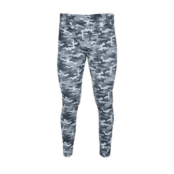 لگ ورزشی مردانه نایک مدل Mub-141 طرح چریکی طوسی