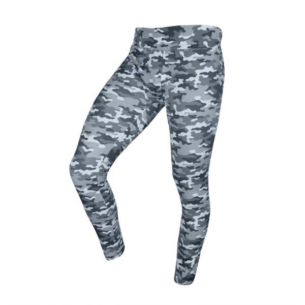 سه رخ لگ ورزشی مردانه نایک مدل Mub-141 طرح چریکی طوسی