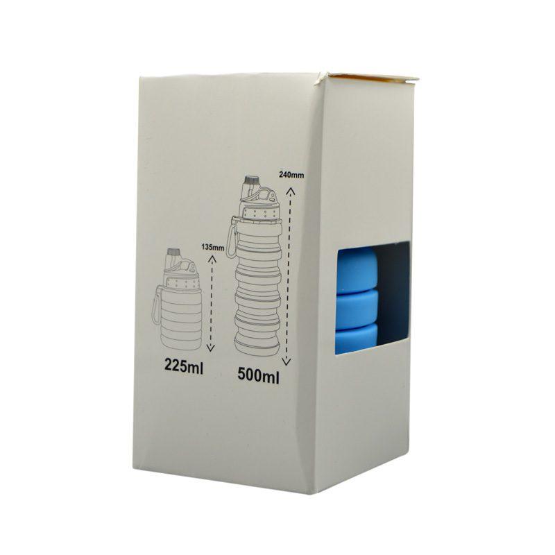 جعبه قمقمه سیلیکونی پاکت باتل مدل آکاردپونی 0.5 لیتر