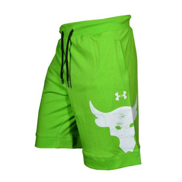 سه رخ شلوارک ورزشی مردانه آندر آرمور مدل PY-GALAXY سبز
