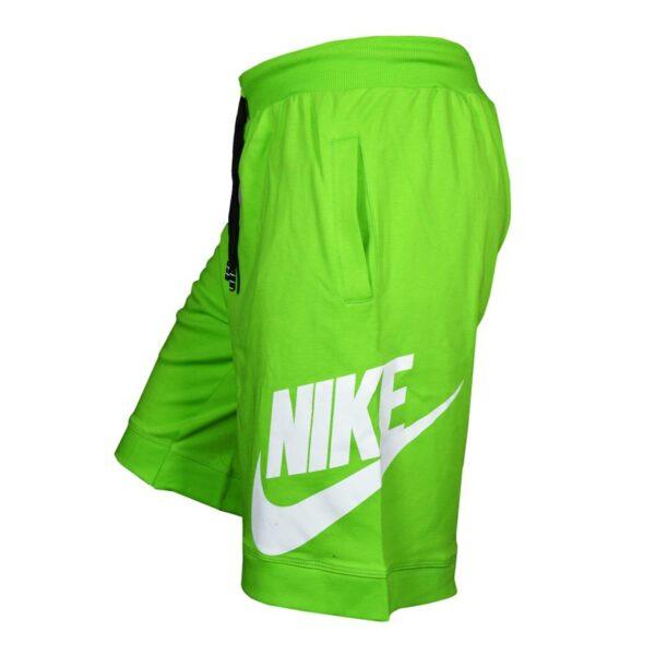 نیم رخ شلوارک ورزشی مردانه نایک مدل PY-GALAXY سبز