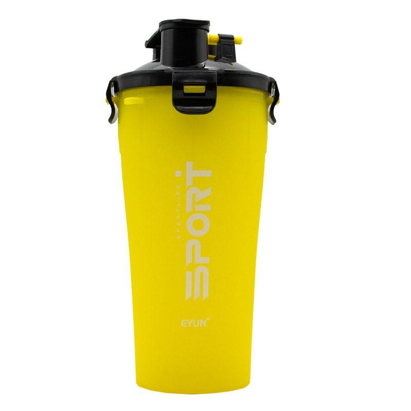 شیکر دو مخزنه آیون مدل اسپرت لایف ظرفیت 0.350 لیتر زرد