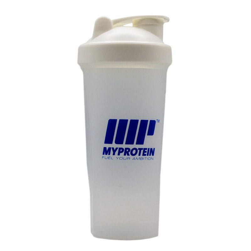شیکر بدنسازی یک تیکه مای پروتئین ظرفیت 0.7 لیتر سفید