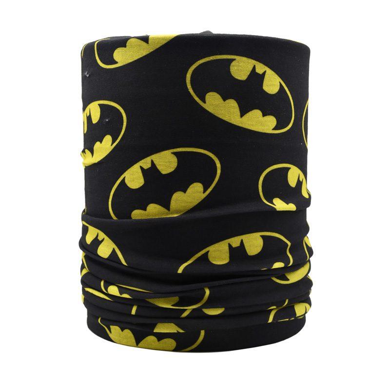 اسکارف و دستمال سر و گردن مدل BATMAN 20596