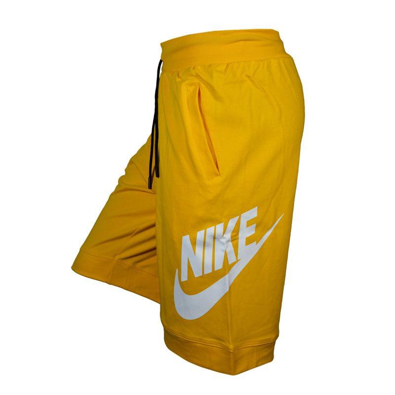 نیم رخ شلوارک ورزشی مردانه نایک PY-GALAXY9912 زرد در دسته بندی لباس ورزشی مردانه