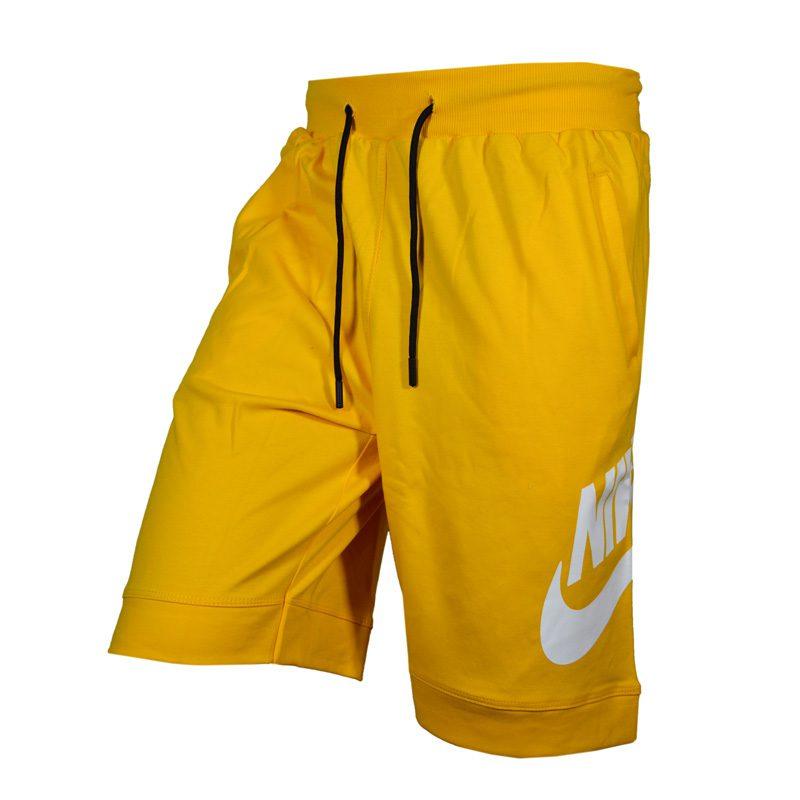 سه رخ شلوارک ورزشی مردانه نایک PY-GALAXY9912 زرد در دسته بندی لباس ورزشی مردانه