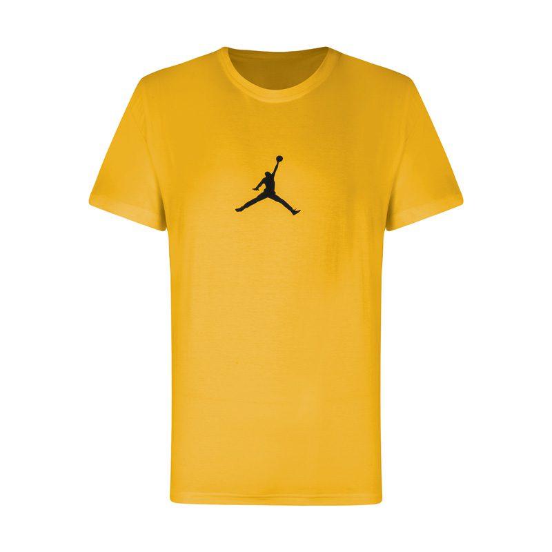 تیشرت ورزشی مردانه جردن مدل PDS91220 زرد در دسته بندی لباس ورزشی مردانه