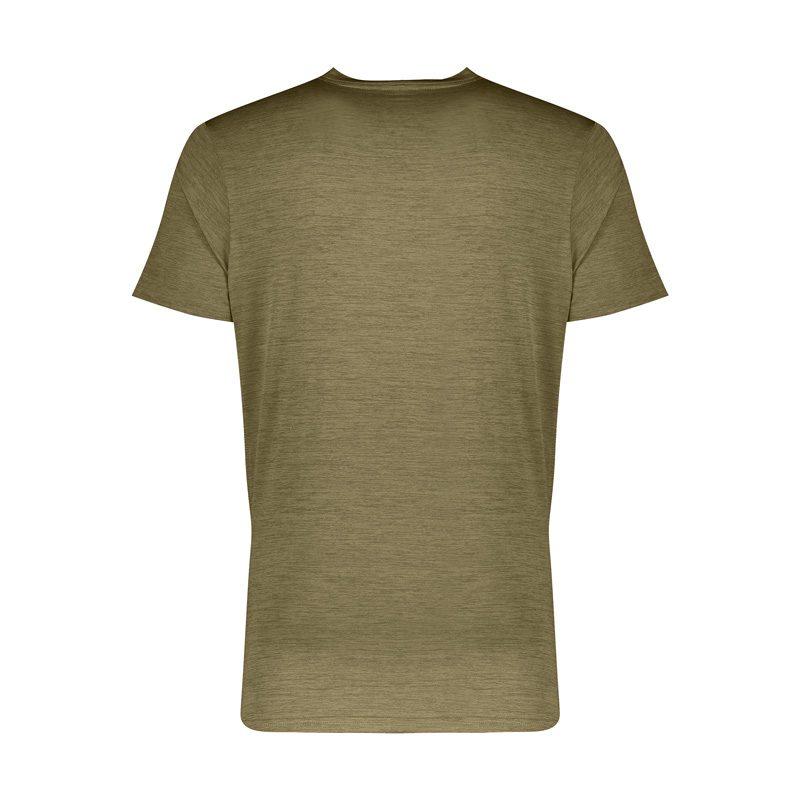 پشت تیشرت ورزشی مردانه ریباک MuB کد 080 یشمی در دسته بندی لباس ورزشی مردانه