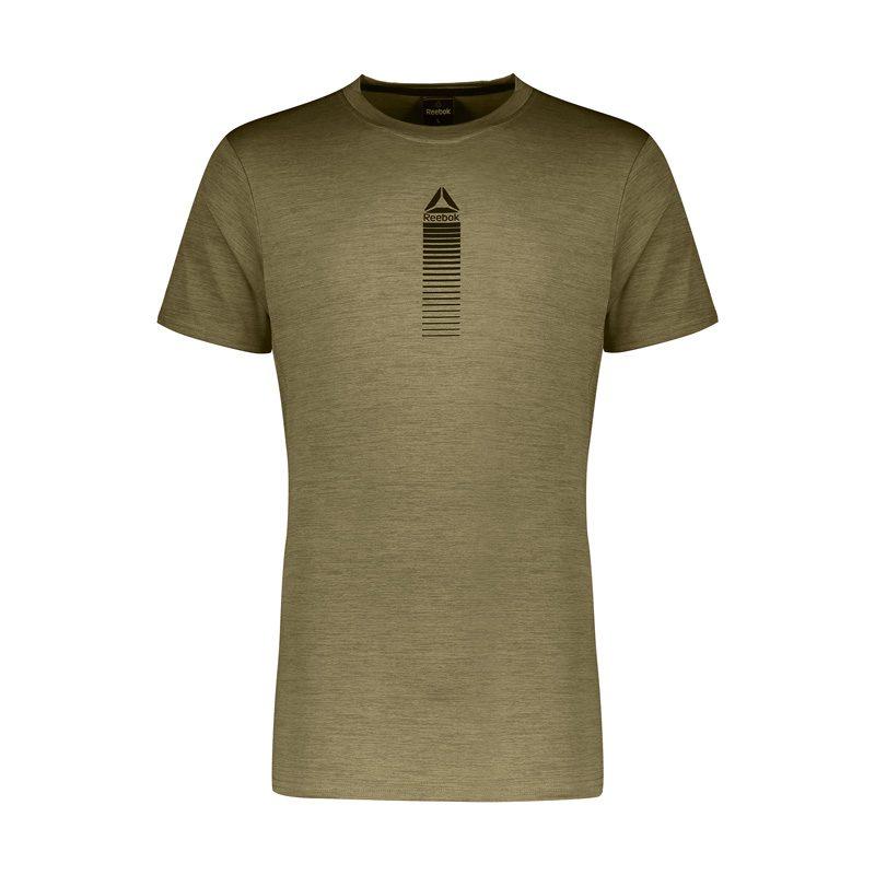 تیشرت ورزشی مردانه ریباک MuB کد 080 یشمی در دسته بندی لباس ورزشی مردانه