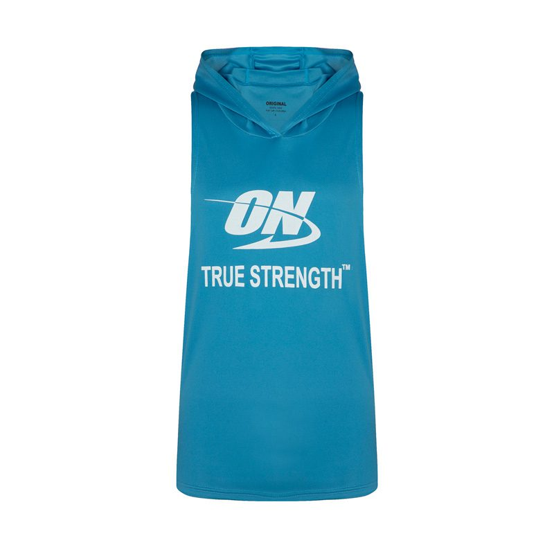 رکابی کلاهدار ورزشی مردانه اوپتیموم نوتریشن مدل PY-91220 آبی در دسته بندی لباس ورزشی مردانه