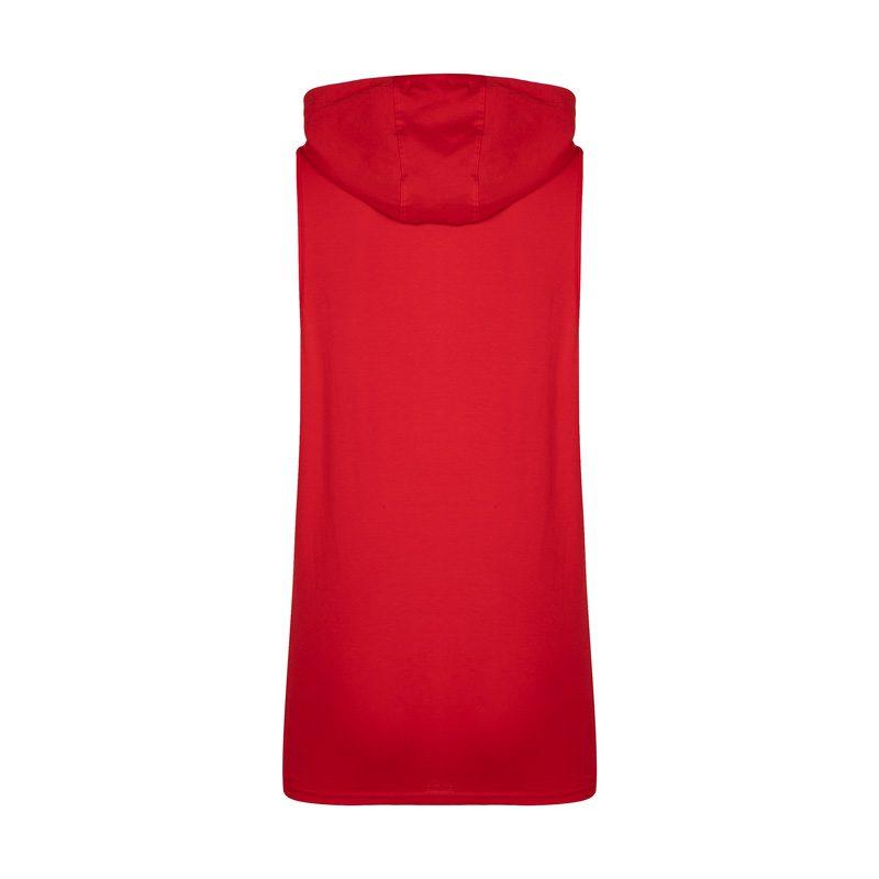 پشت رکابی کلاهدار ورزشی مردانه پانیشر مدل PY-BAND قرمز در دسته بندی لباس ورزشی مردانه