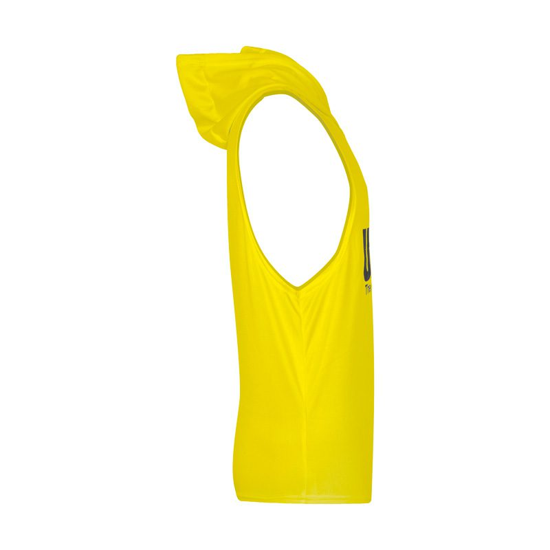 نیمرخ رکابی کلاهدار ورزشی یونیورسال مدل PY-HARDLINE زرد