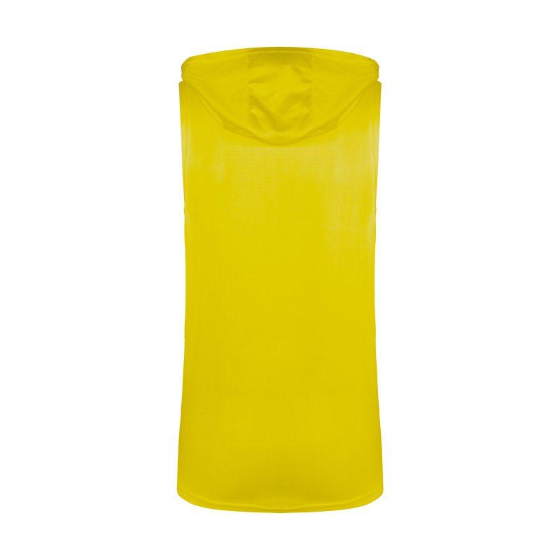 پشت رکابی کلاهدار ورزشی یونیورسال مدل PY-HARDLINE زرد در دسته بندی لباس ورزشی مردانه