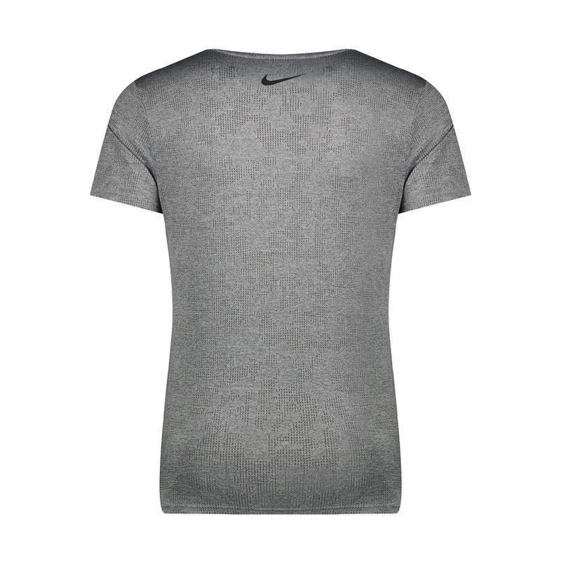تیشرت ورزشی مردانه نایک مدل LOT-033 طوسی پشت