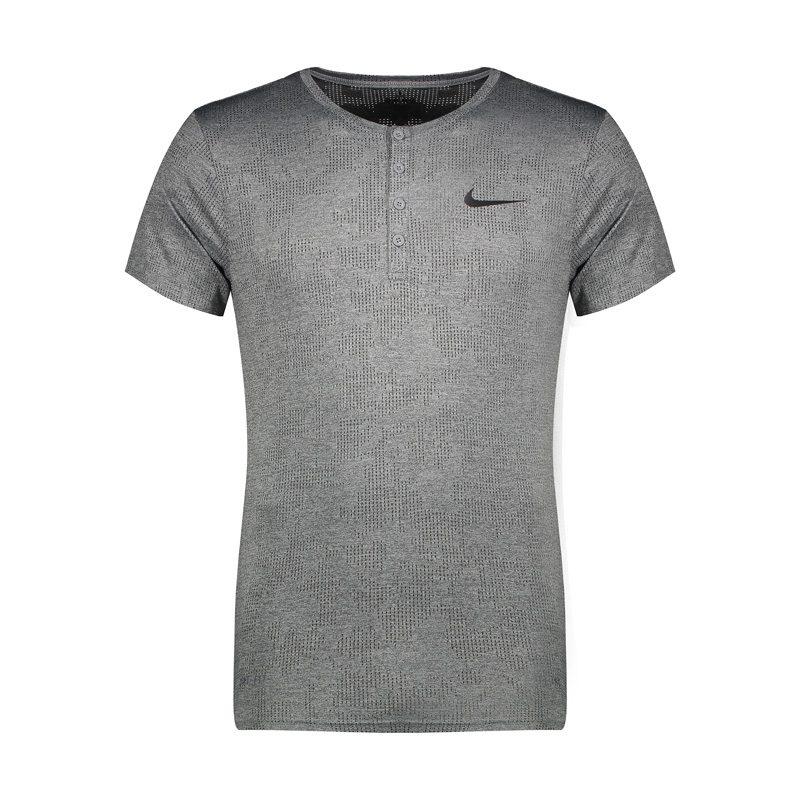 تیشرت ورزشی مردانه نایک مدل LOT-033 طوسی