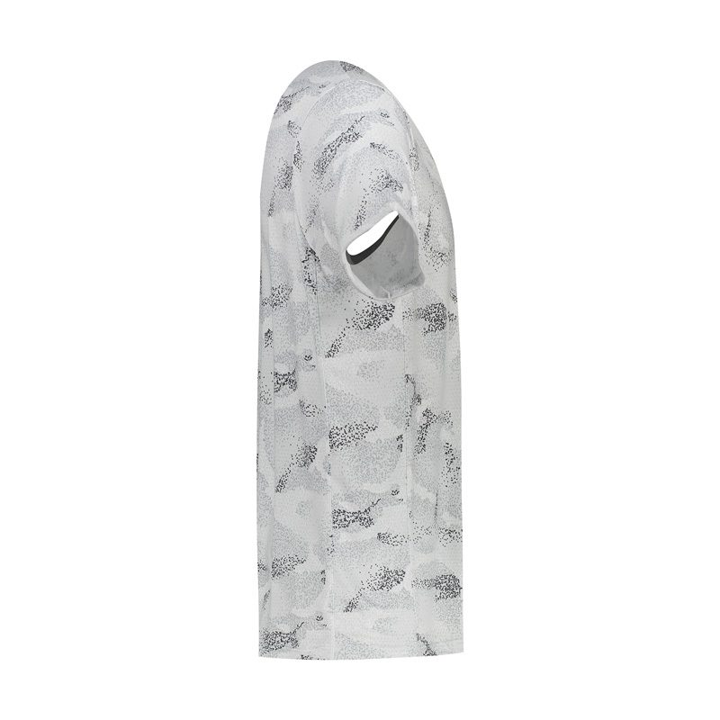 تیشرت ورزشی مردانه نایک مدل MuB-213 برفکی سفید نیمرخ