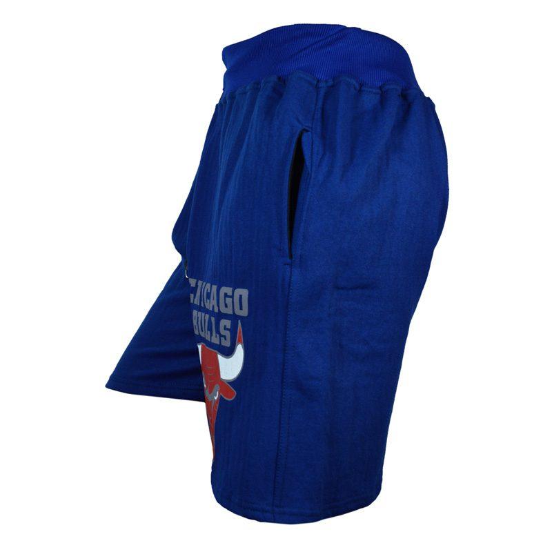 شلوارک ورزشی مردانه شیکاگو مدل SPL-Power0011 آبی نیمرخ
