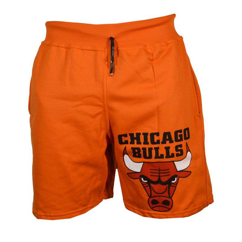 شلوارک ورزشی مردانه شیکاگو مدل SPL-Power0011 نارنجی