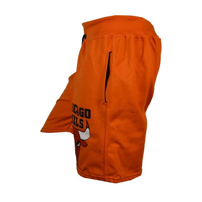 شلوارک ورزشی مردانه شیکاگو مدل SPL-Power0011 نارنجی نیمرخ