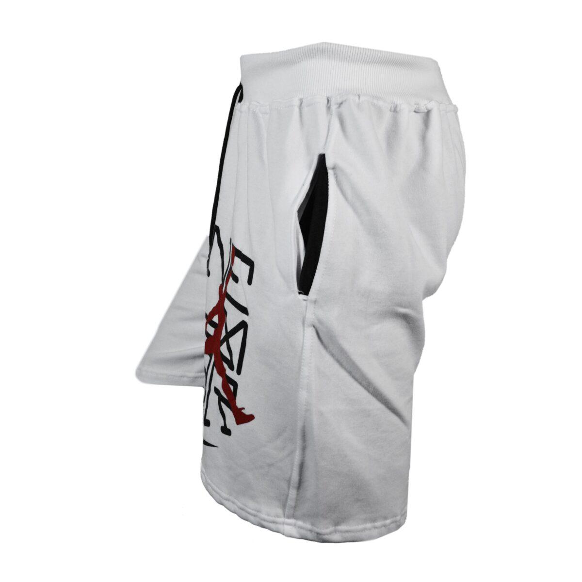 شلوارک ورزشی مردانه نایک مدل SPL-JORDAN0011 سفید 03