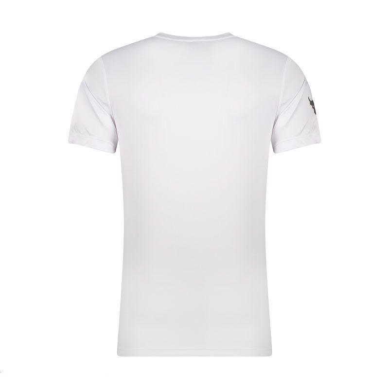 تیشرت ورزشی مردانه آندر آرمور مدل ADNK BROKEN-0220 سفید پشت