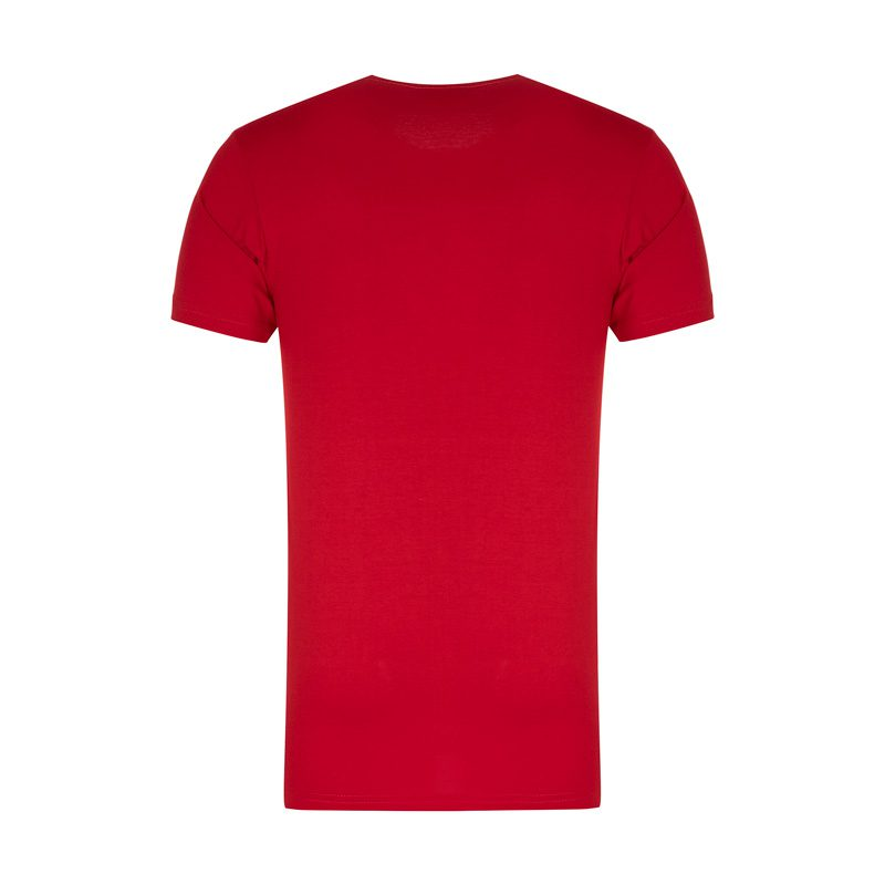 پشت تیشرت ورزشی مردانه شیکاگو بولز مدل SPL-BASKETBAL 0303 قرمز