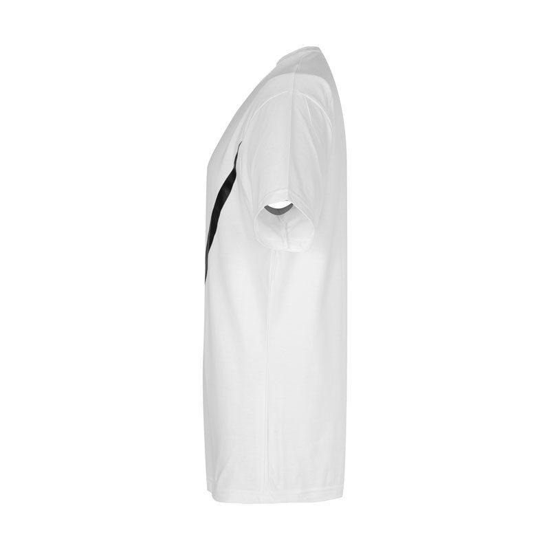 تیشرت ورزشی مردانه نایک مدل SPL-BIG NK-0220 سفید نیمرخ
