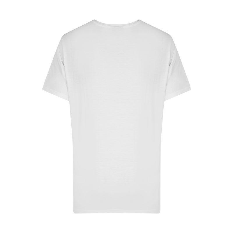 تیشرت ورزشی مردانه نایک مدل SPL-BIG NK-0220 سفید پشت
